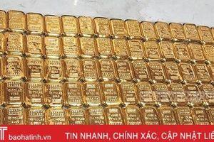 Tìm thấy 106 thỏi vàng nặng khoảng 12 kg trên máy bay