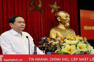 Chuẩn bị các điều kiện Đại hội đại biểu toàn quốc MTTQ Việt Nam lần thứ IX