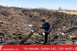 Hộp đen máy bay Ethiopia rơi được gửi ra nước ngoài phân tích