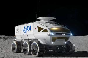 Toyota chế xe vũ trụ, đủ di chuyển một vòng Mặt trăng