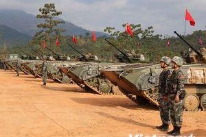Hình ảnh Campuchia-Trung Quốc tiến hành tập trận Rồng Vàng 2019