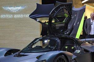 Sững sờ ngắm siêu phẩm Aston Martin Valkyrie 75 tỷ đồng vừa ra mắt