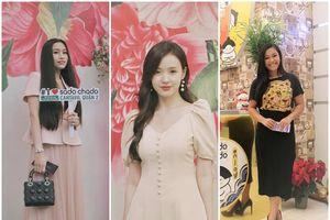 Hoa hậu Lý Thiên Nương, Mi Du cùng dàn Sao ủng hộ uống trà sữa bằng ống hút bột gạo