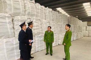 Thanh Hóa: Bắt giữ hơn 18 nghìn tấn xi măng giả nhãn mác, bao bì
