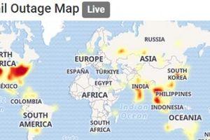 Google Gmail, Drive, Maps gặp sự cố toàn cầu