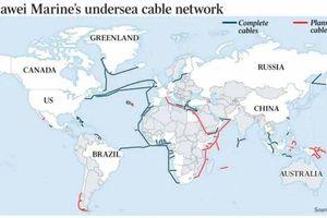 Mỹ - Trung Quốc cạnh tranh kiểm soát cáp quang biển