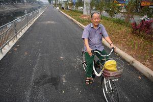 Hà Nội mở tuyến đi bộ ven sông đầu tiên