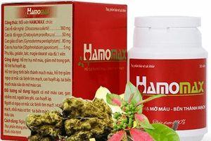 Cẩn trọng thông tin quảng cáo thực phẩm bảo vệ sức khỏe Hamomax