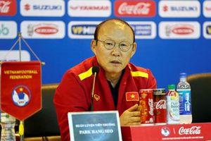 HLV Park Hang-seo: 'Đội tuyển U23 sẽ thi đấu với tinh thần Việt Nam'