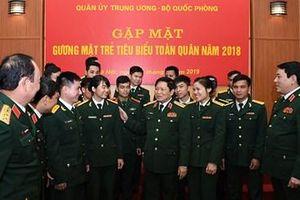 Quân ủy Trung ương, Bộ Quốc phòng gặp mặt Gương mặt trẻ tiêu biểu toàn quân năm 2018