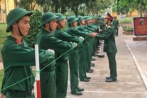 Khát khao cống hiến sức trẻ cho quân đội