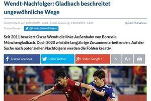 CLB đang thi đấu tại Bundesliga chú ý tới Đoàn Văn Hậu