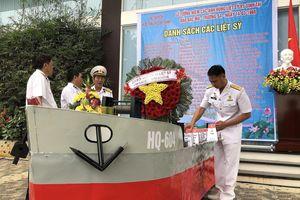 Tưởng niệm 64 chiến sĩ Gạc Ma