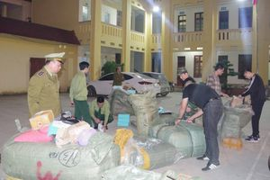 Lạng Sơn: Bắt số lượng lớn hàng hóa nhập lậu