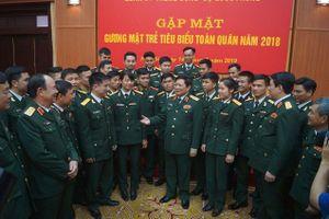 Quân ủy T.Ư gặp mặt 25 Gương mặt trẻ xuất sắc