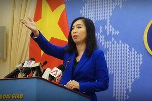 Bộ Ngoại giao lên tiếng về việc bảo hộ công dân Đoàn Thị Hương