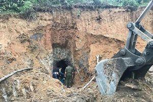 Sập hầm mỏ thiếc tại Nghệ An làm 3 người tử vong