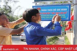 Tuổi trẻ Hà Tĩnh triển khai hiệu quả 'đường điện thắp sáng làng quê'