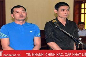 Trộm thiết bị máy đào, 2 bị cáo lĩnh án 14 năm tù