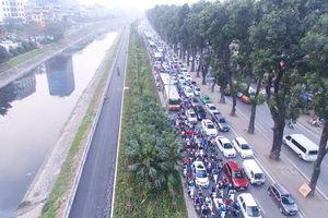 Cận cảnh con đường dài 4km ven sông Tô Lịch dành cho người đi bộ, đi xe đạp