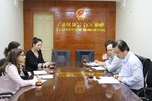 Tổng cục Giáo dục nghề nghiệp làm việc với Đại sứ quán Canada tại Việt Nam