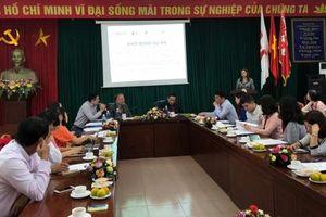 Nâng cao năng lực ứng phó với thiên tai cho Hội Chữ thập đỏ Việt Nam