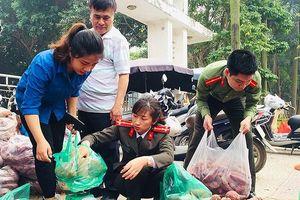 Các chiến sỹ trẻ lên kế hoạch 'giải cứu' 200 tấn khoai lang cho đồng bào Gia Lai