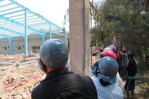 Vụ sập tường công trình đang xây: Nạn nhân thứ 6 tử vong