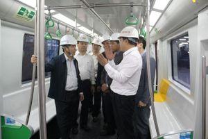 Bộ trưởng Bộ GTVT: Người dân mong đường sắt Cát Linh - Hà Đông sớm đưa vào khai thác