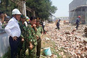Sập công trình ở Vĩnh Long, Bộ Xây dựng chỉ đạo hỏa tốc