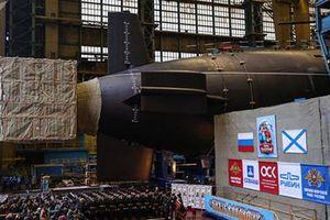 Hai tàu ngầm hạt nhân nào vừa gia nhập hải quân Nga?
