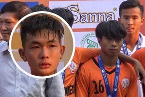 'Tiểu Công Phượng' và đồng đội ngấn lệ sau khi U.19 Đà Nẵng thua Hà Nội