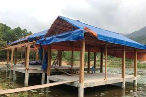 Cưỡng chế khu nghỉ dưỡng 'chui' giữa rừng phòng hộ Quảng Nam