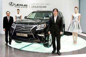 Triệu hồi xe Lexus GX460 vì lỗi túi khí