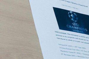 Bốc thăm C1: UEFA bị nghi dàn xếp MU vs Tottenham, Man City vs Barca