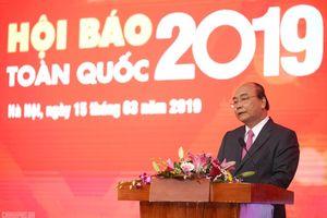 Thủ tướng Nguyễn Xuân Phúc: 'Đảng, Nhà nước và nhân dân luôn đánh giá cao vai trò của báo chí'