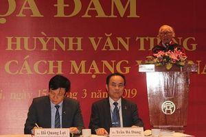 Nhà báo Huỳnh Văn Tiểng người truyền lửa cho nhiều thế hệ nhà báo