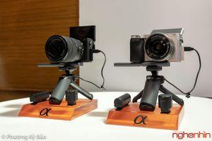 Trên tay Sony A6400: quái vật tốc độ mới trong dòng máy ảnh mirrorless APS-C