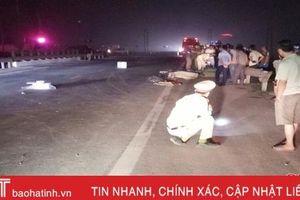 Va chạm với xe khách, nam thanh niên Hà Tĩnh tử vong tại chỗ