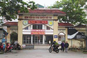 Hà Tĩnh: Phó giám đốc bệnh viện huyện chết trong tư thế treo cổ trong nhà