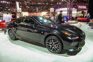 Chi tiết Lexus IS 300 F Sport thêm phiên bản Black Line