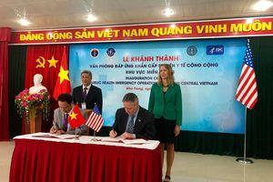 Thành lập Văn phòng đáp ứng khẩn cấp sự kiện y tế khu vực miền Trung