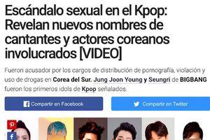 EXO và BTS bất ngờ bị nghi dính dáng tới group chat sex