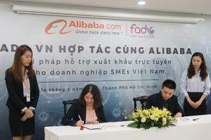 Alibaba và Fado hợp tác đưa hàng Việt ra thế giới