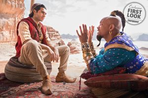 Sau trailer 'Aladdin 2019' đầu tiên, nhân vật Thần Đèn của Will Smith bắt đầu nhận được phản ứng tích cực từ khán giả!