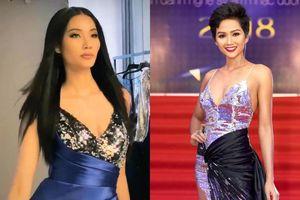 Hoàng Thùy mặc 1 chiếc váy mà fan réo tên cả H'Hen Niê lẫn Thúy Vân