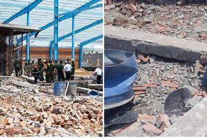 Hiện trường vụ sập bức tường rộng 400m2, 6 người chết