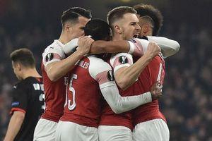Arsenal ngược dòng trước Rennes để vào tứ kết Europa League