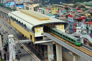 Tuyến Cát Linh-Hà Đông đã hoàn thành 99% khối lượng xây lắp
