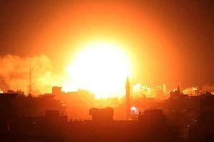 Israel dội 100 tên lửa chính xác vào Dải Gaza